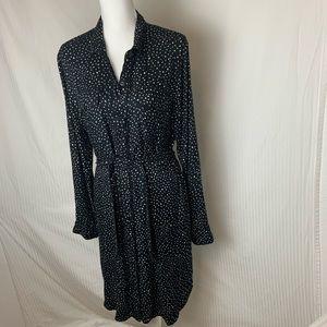 Black and white Volcom dress
